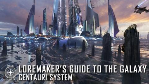 Путеводитель по Галактике: система Centauri