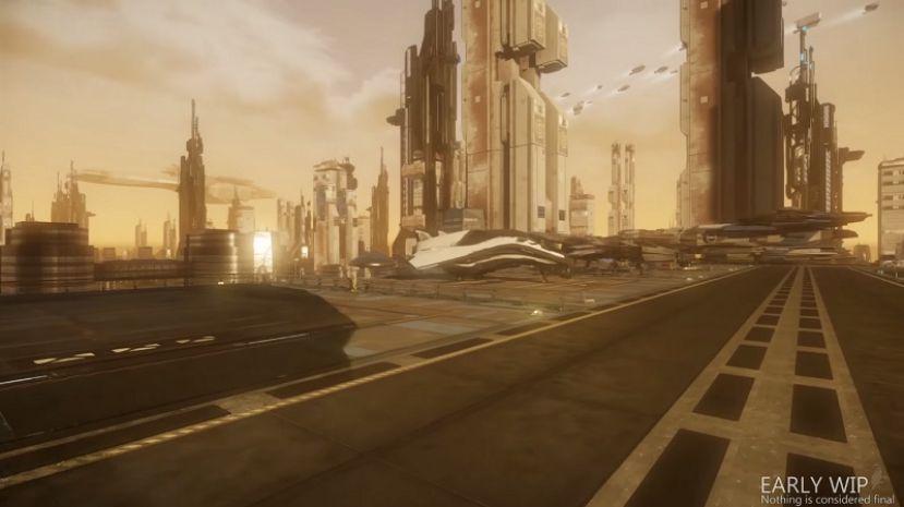 WIP: Planetside Landing Zone