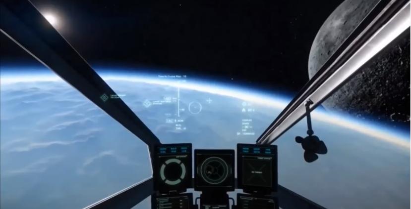 Star Citizen: Посадка на планету