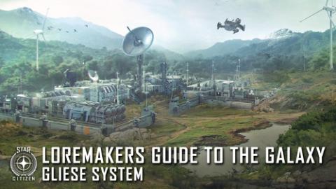 Путеводитель по Галактике: система Gliese