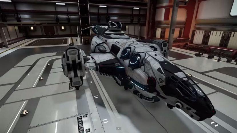 Redeemer Class Gunship (White) TNGS
