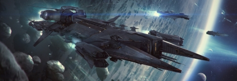 Вокруг Вселенной - Javelin: The UEE's Destroyer