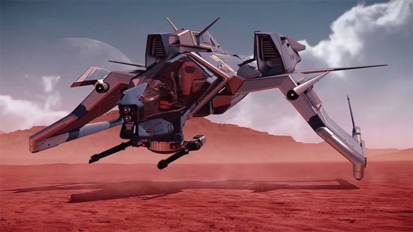 Star Citizen: Consolidated Outland Mustang Commercial