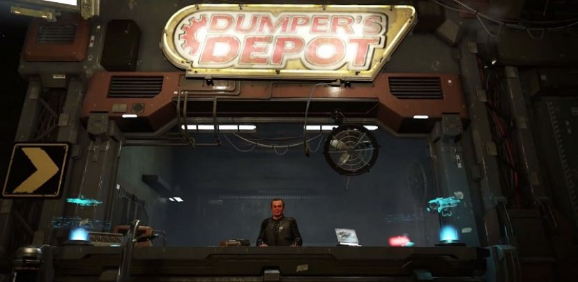 Star Citizen - Dumper's Depot